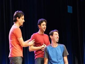 Cia Barbixas de Humor apresenta espetáculo 'Improvável' em Aracaju (Foto: Divulgação)