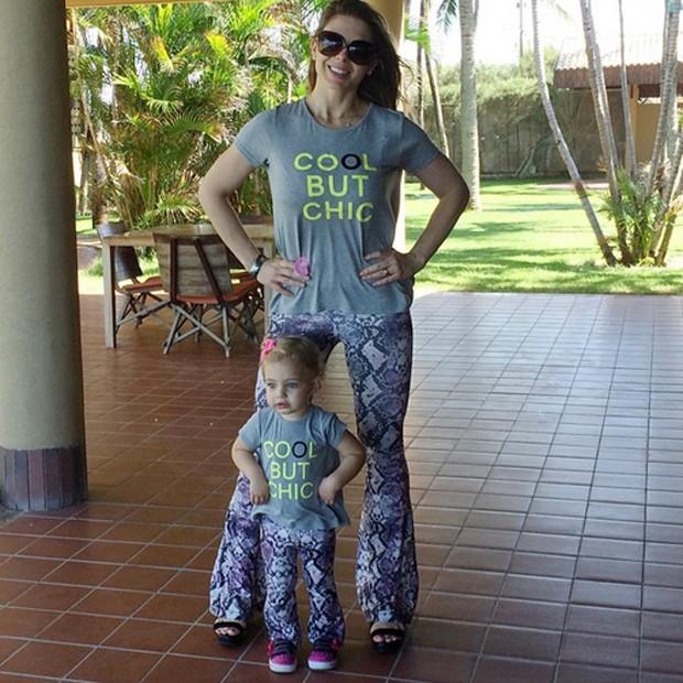 Sheila Mello e a filha, Brenda (Foto: Reprodução/Instagram)