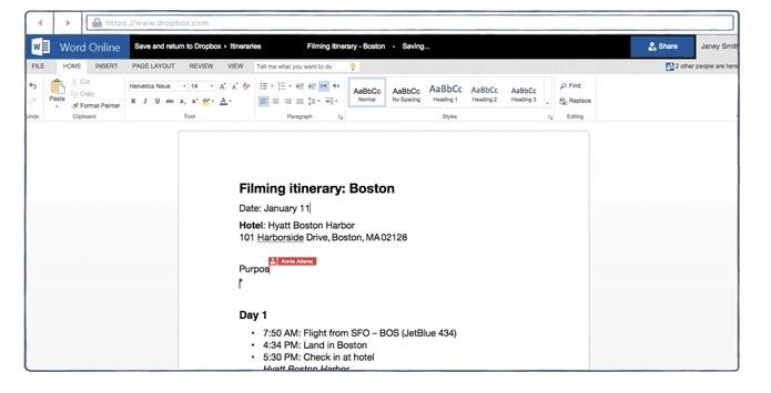 Dropbox e Office ganharam novo recurso de integração (Foto: Divulgação/Dropbox)