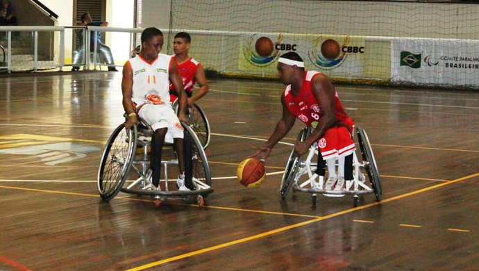 América Tigres x All Star Rodas - basquete paralímpico (Foto: Canindé Pereira/Divulgação)