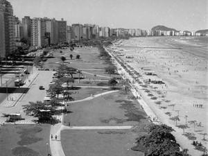 Jardim de Santos antigamente (Foto: Imagens FAMS/Divulgação)