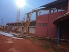 Temporal com granizo deixa rastro de destruição em Guajará-Mirim, RO