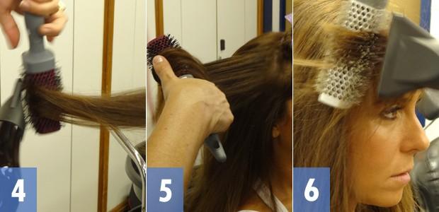 passo a passo 2 cabelo clara (Foto: Em Família/TV Globo)