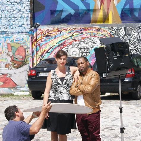 Maria Paula e Thaíde (Foto: André Rizzatto/Band.)
