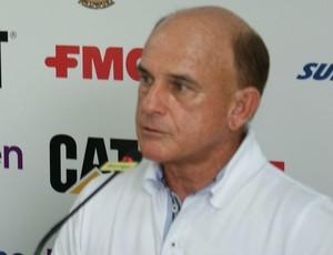 Edison Só, treinador do XV de Pirracicaba (Foto: Fernando Galvão / XV de Piracicaba)