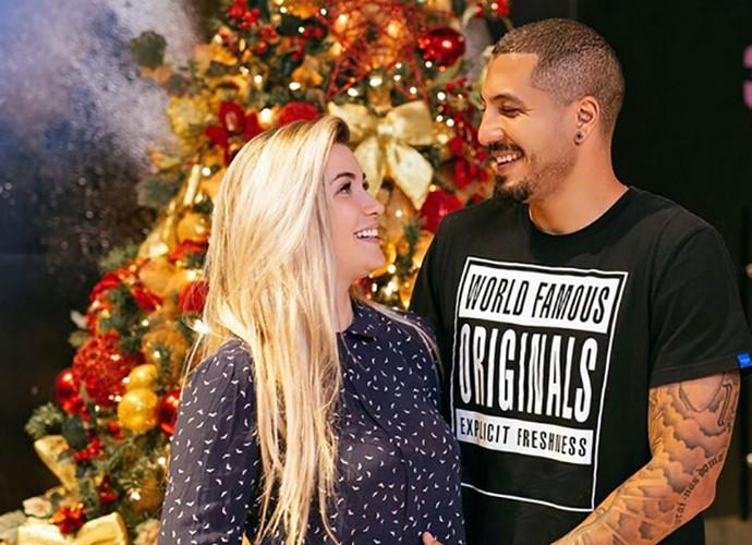 Casal Ferline pasará primeiro Natal juntos como marido e mulher (Foto: Arquivo Pessoal)
