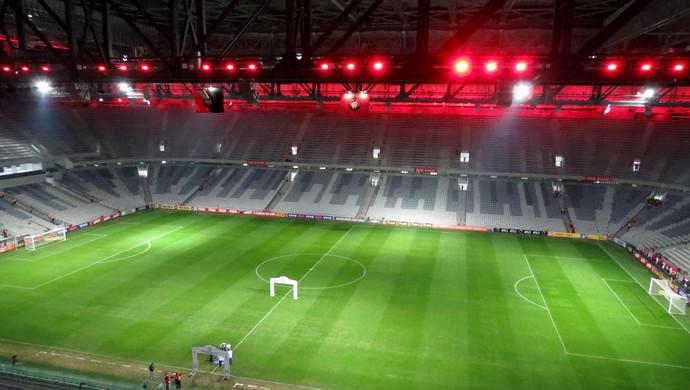 Arena da Baixada Atlético-PR São Paulo (Foto: Fernando Freire)