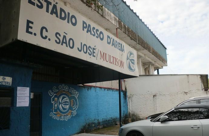 Inter treina no Passo D'Areia (Foto: Eduardo Deconto/GloboEsporte.com)