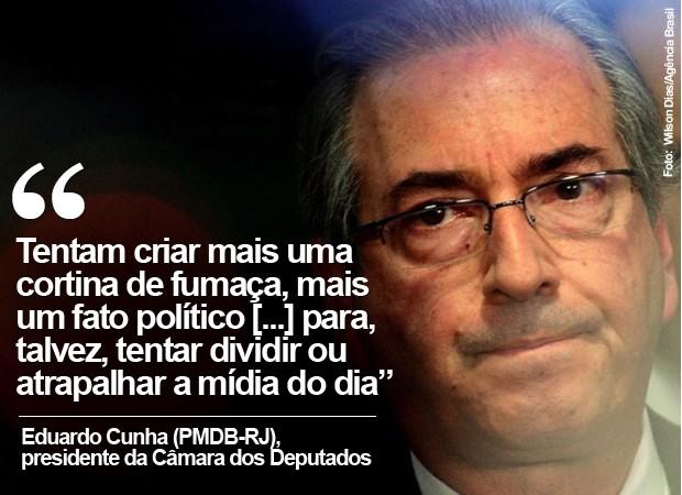 Card Eduardo Cunha (Foto: Wilson Dias/Agência Brasil)