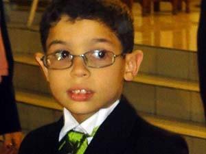 c7d79797ef9bb Gustavo começou a usar óculos com apenas um anos e sete meses (Foto  Iara