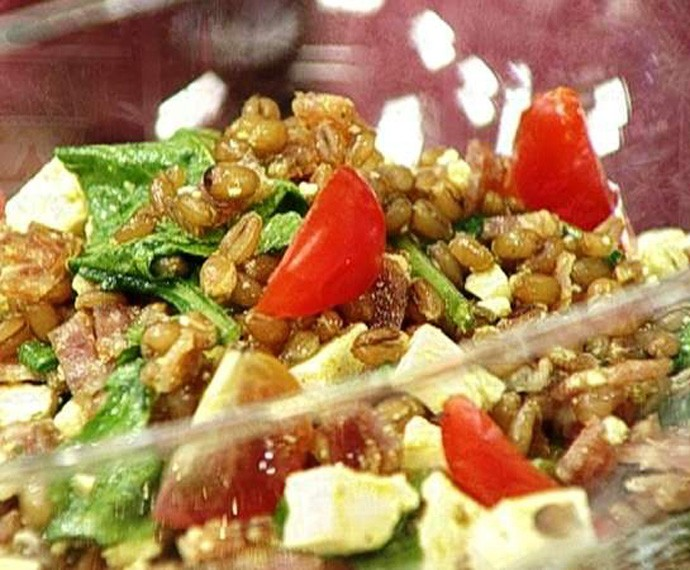 Salada de trigo  (Foto: Gshow)
