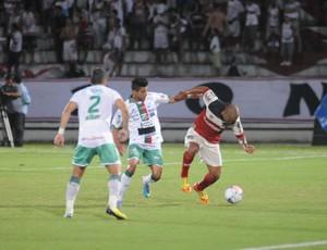 Santa Cruz x Baraúnas (Foto: Aldo Carneiro / Pernambuco Press)