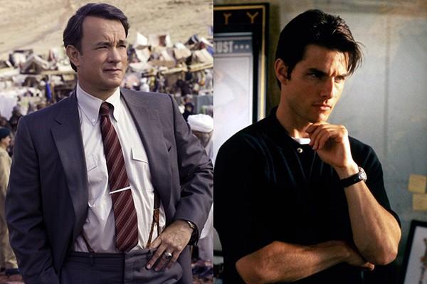 Tom Hanks e Tom Cruise (Foto: Divulgação)