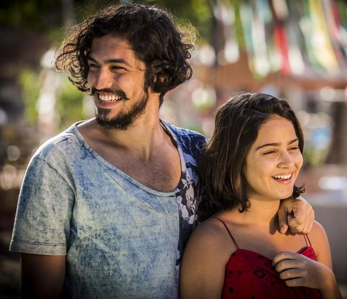 Miguel e Olívia podem não ser irmãos (Foto: Inácio Moraes/ Gshow)