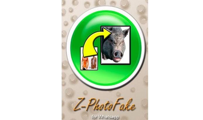 App para o WhatsApp engana usuários com fotos trocadas (Foto: Divulgação/ Z- Photo Fake)