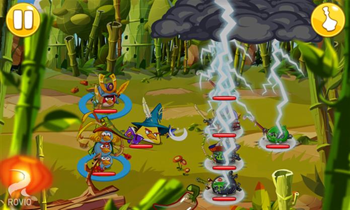 Angry Birds é um divertido jogo de RPG baseado em rodadas (Foto: Divulgação/Windows Phone Store)