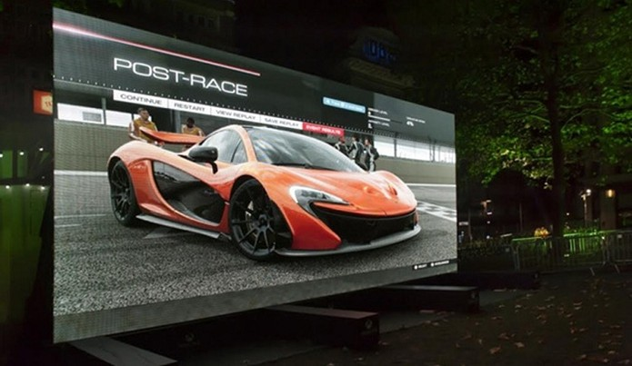 Aparelho possui 370 polegadas e custa R$ 3,5 milhões (Foto: Divulgação/Titan Screens)