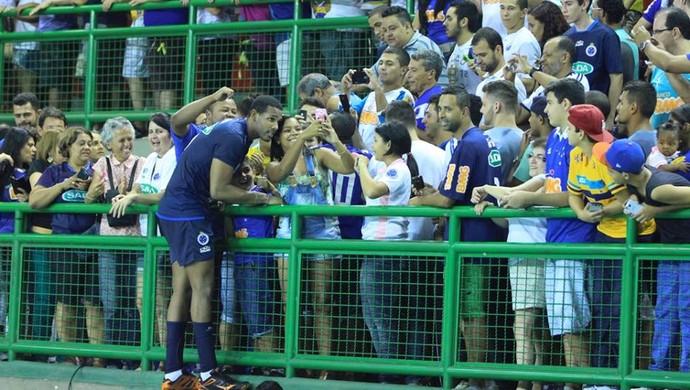 Leal, ponteiro do Cruzeiro (Foto: Reprodução / Sada Cruzeiro)