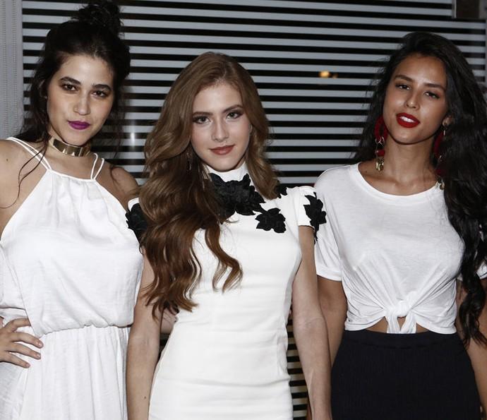 Yasmim Gomlevsky, Hanna Romanazzi e Yanna Lavigne (Foto: Fábio Rocha / Gshow)