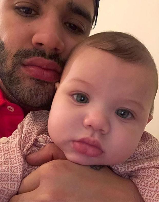 Gusttavo Lima e Gabriel (Foto: Reprodução/Instagram)