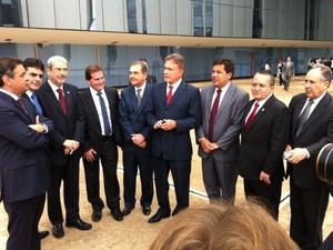 Parlamentares vão ao STF por CPI para investigar exclusivamente denúncias na Petrobras (Foto: Reprodução/TV Globo)
