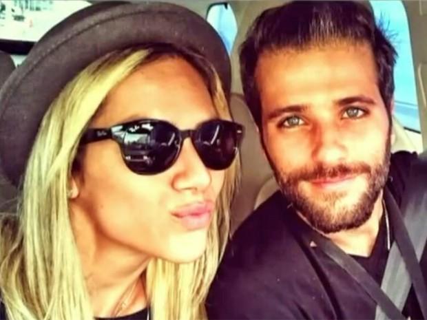 Giovanna Ewbank e Bruno Gagliasso fazem selfie (Foto: Arquivo pessoal)