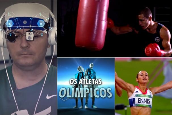 Nesta terça, dia 24, o Jornal da Globo estreia a série Os Atletas Olímpicos, que mostra cientificamente a evolução dos atletas (Foto: Globo)