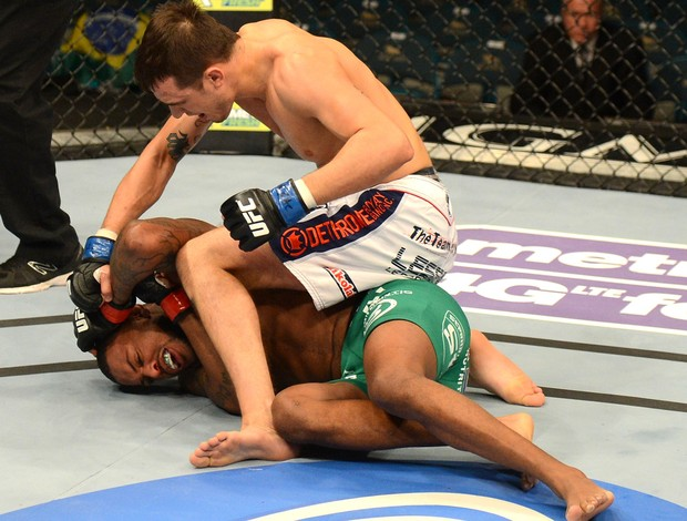 Michael Johnson e Myles Jury, UFC 155 (Foto: Getty Images)