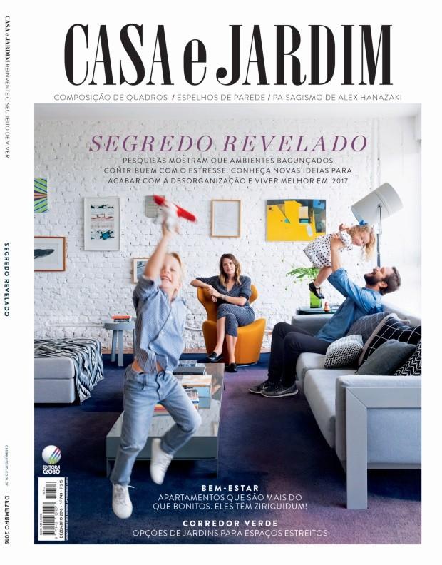 Capa Casa e Jardim, edição 743 (Foto: Maíra Acayaba / Editora Globo)