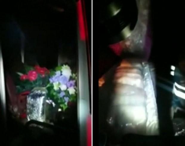 Polícia russa encontrou 500 kg de caviar dentro de carro funerário (Foto: Reuters)