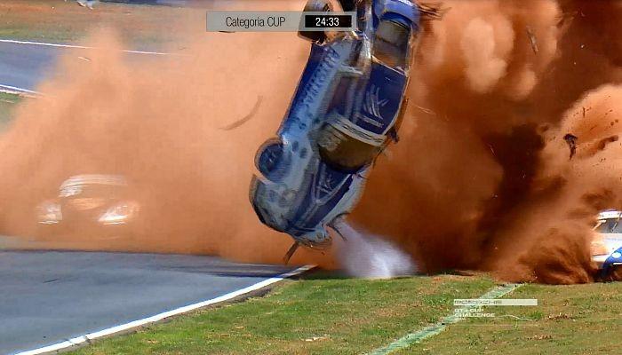 Acidente Pedro Piquet Porsche Goiânia