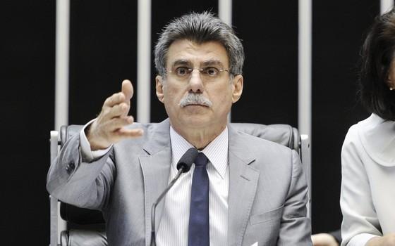 O senador Romero Jucá (PMDB-RR) (Foto: Pedro França/Agência Senado)