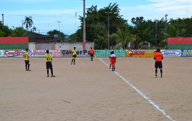 Competição quer revelar talentos do futebol no município de Santana, AP (Foto: Jonhwene Silva)