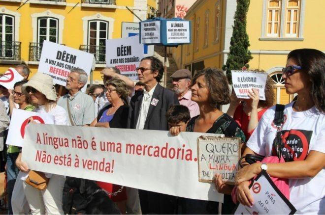 Acordo é encarado como uma imposição da versão brasileira da língua e uma ameaça real a um dos símbolos de maior orgulho do país europeu (Foto: Ivo Miguel Barroso/ Acervo pessoal)