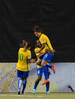 Formiga, Marta, Cristiane Brasil x Coreia do Sul Mundial Feminino