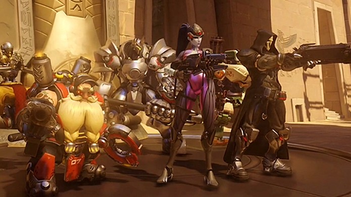 Overwatch trará combates multiplayer entre times com base no antigo Project Titan (Foto: Kotaku)