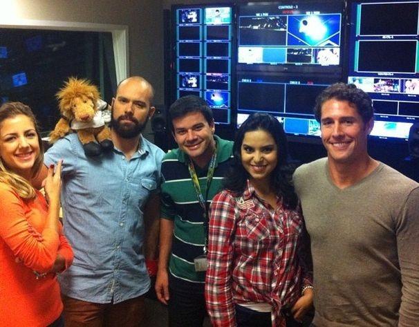 Guilherme Fraga somou esforços para o SporTV e Globo (Foto: Divulgação / TV Sergipe)