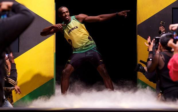 Usain Bolt uniforme (Foto: AFP)