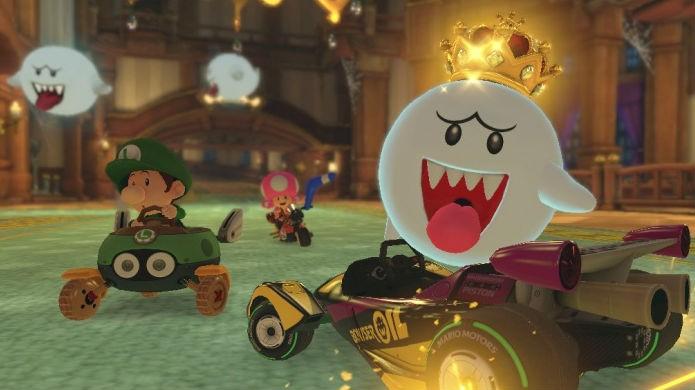 Mario Kart 8 Deluxe marca a estreia de King Boo (Foto: Divulgação/Nintendo)