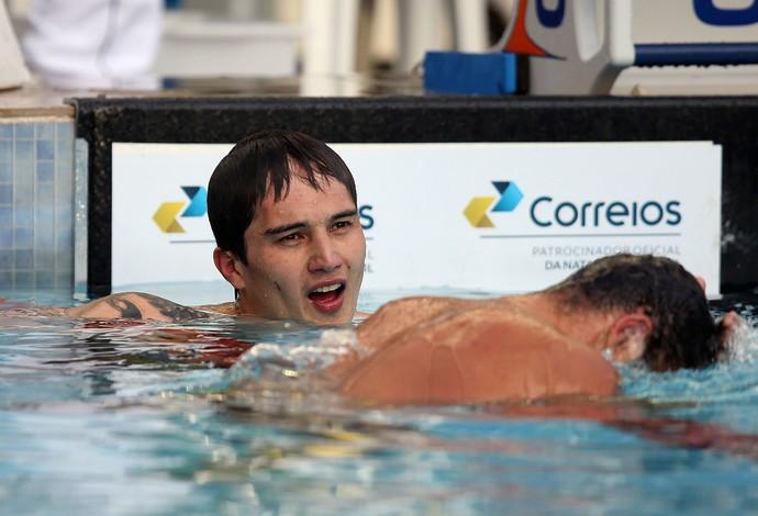 Lucas Salatta natação José Finkel (Foto: Satiro Sodré / SS Press)