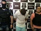 Polícia apresenta suspeito de mandar matar usuários de droga por dívida