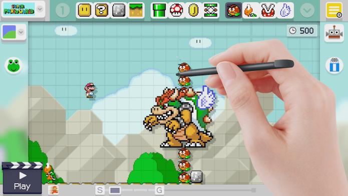 Teste suas fases com frequência para melhorá-las com novos elementos (Foto: Divulgação/Nintendo)