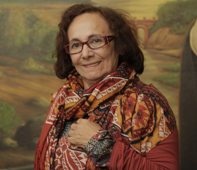 Zezita Matos vive a sensível e forte Piedade em 'Velho Chico' (Foto: Inácio Moraes/ Gshow)