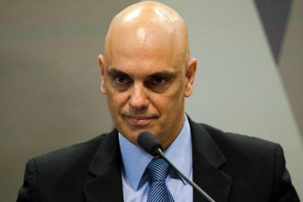 Alexandre de Moraes toma posse como ministro do STF (Foto: Reprodução/Agência Brasil)