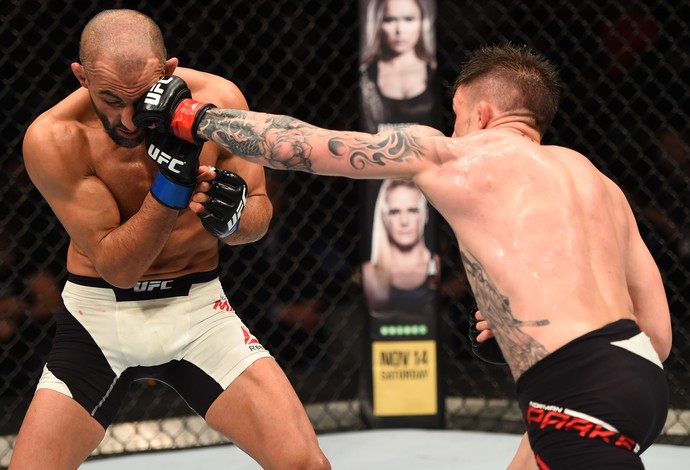 Norman Parke Reza Madadi UFC Dublin 2 (Foto: Getty Images)