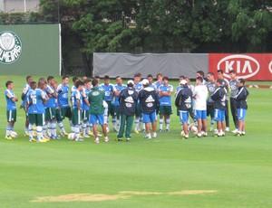 Treino do Palmeiras Gilson Kleina (Foto: Gustavo Serbonchini)