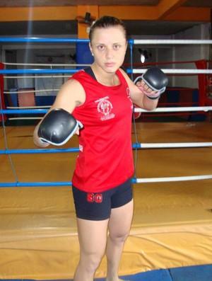 Daiany Gladiadora alegou lesão e está fora do HCC 13 (Foto: Divulgação/Haidar Capixaba Combat)