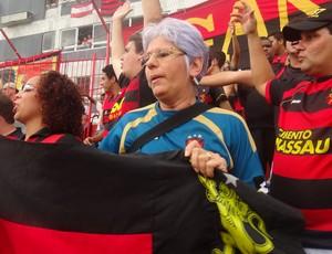 Amélia - Sport (Foto: Daniel Gomes/Globoesporte.com/PE)