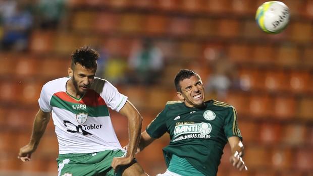 Lúcio Palmeiras x Portuguesa (Foto: AE)