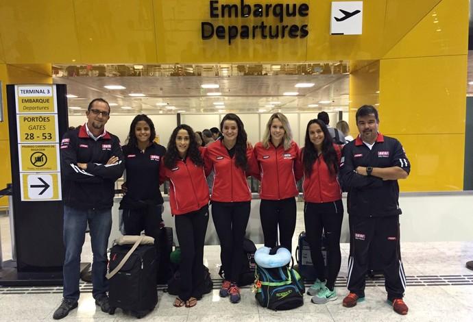 Equipe do Sesi-SP, natação, GP Santa Clara (Foto: Divulgação SM PRESS)